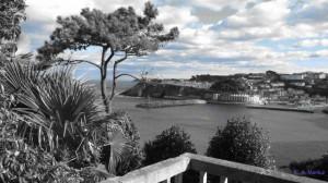Luarca desde Jardines Fonte Baixo
