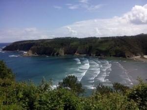 Iniciando la Senda Costera desde Caroyas hasta Cabo Busto